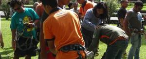 Outbound di Bali Treetop Kebun Raya Bedugul 02