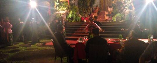 Outbound Bali Bank Indonesia Gala Dinner di Ubud 180317