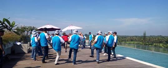 Outbound di Bali Bank Indonesia Ice Breaking 1803172