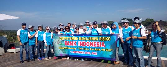 Outbound di Bali Bank Indonesia Tema Amazing Race