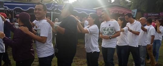 Outbound di Toya Devasya Bali- Bank Mandiri Kanwil Denpasar 251120162