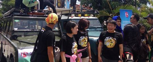 Outbound di Bali Paket Amazing Race Land Rover