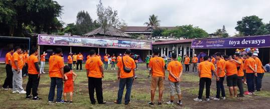 Paket Family Gathering di Bali - Kumpul - Jasa Raharja Cabang Bali