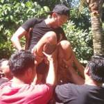 Outbound di Desa Taro Bali & ATV Ride - Game Angkat