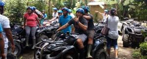 Outbound di Desa Taro Bali & ATV Ride - Starting