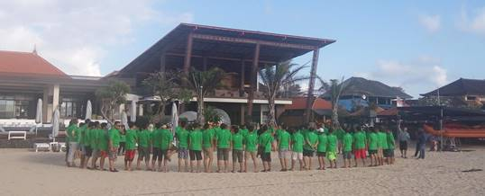10 Tempat Outbound Pantai Yang Indah di Bali
