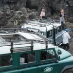 Outbound di Bali Nuansa Adventure Land Rover - Atas Terbuka