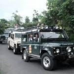 Outbound di Bali Nuansa Adventure Land Rover - Jalan Turun