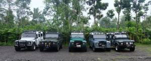 Outbound di Bali Nuansa Adventure Land Rover - Stand By