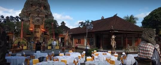 Outbound di Puri Agung Peliatan Bali 080918