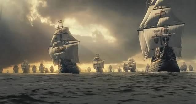 Armada Invencible en formación