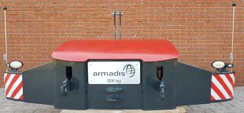 Armadis frontgewichtbumper voorkant