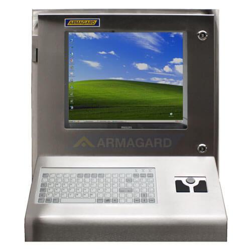 Armario ordenador Inox  Armario ordenador Inox y pantalla