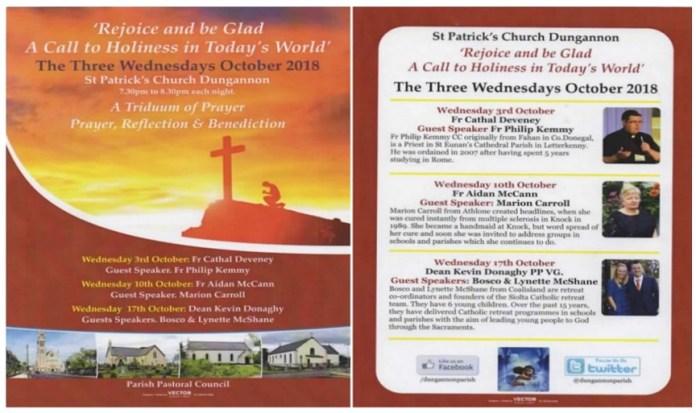 Triduum of Prayer St Patrick's Dungannon @ Dungannon Church