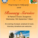 Rosary Service @ St Patrick's Church, Dungannon | Dungannon | Northern Ireland | United Kingdom