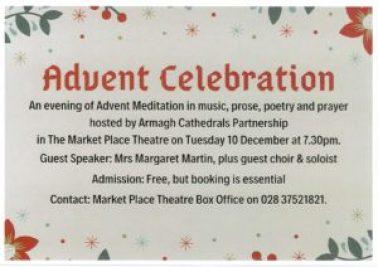 Advent Celebration @ Market Place Theatre Armagh