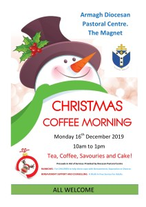 Christmas Coffee Morning @ Armagh Diocesan Pastoral Centre, The Magnet, Dundalk