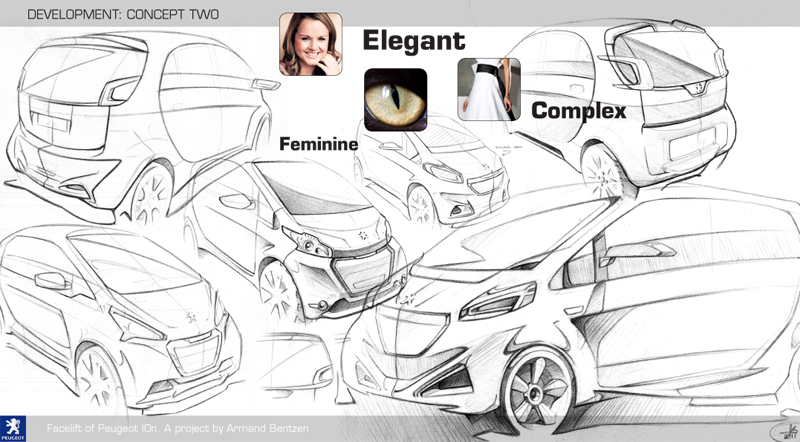 » Blog Archive » Facelift of Peugeot iOn