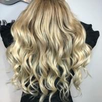 Perfect blonde and hair extensions at Salon Armandeus Weston