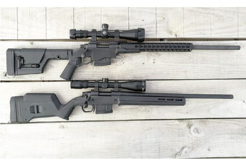 Remington 700 PRS vs Remington 700 Magpul, este último otra buena ópción para PRS