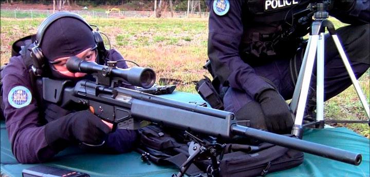 armas rifles tirador designado wwii PSG 1