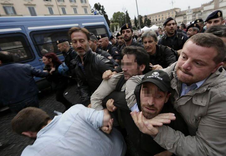 Come si (ri)diventa fascisti: lo stato di polizia del governo Renzi