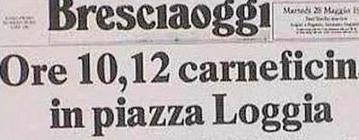 Brescia, 28 maggio 1974. La strage di piazza della Loggia
