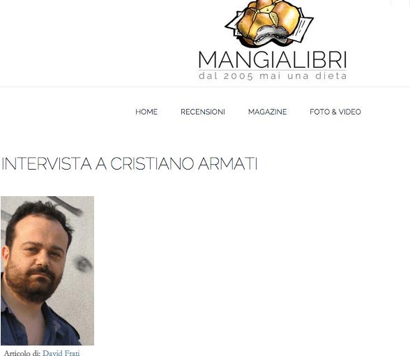 Intervista a Cristiano Armati