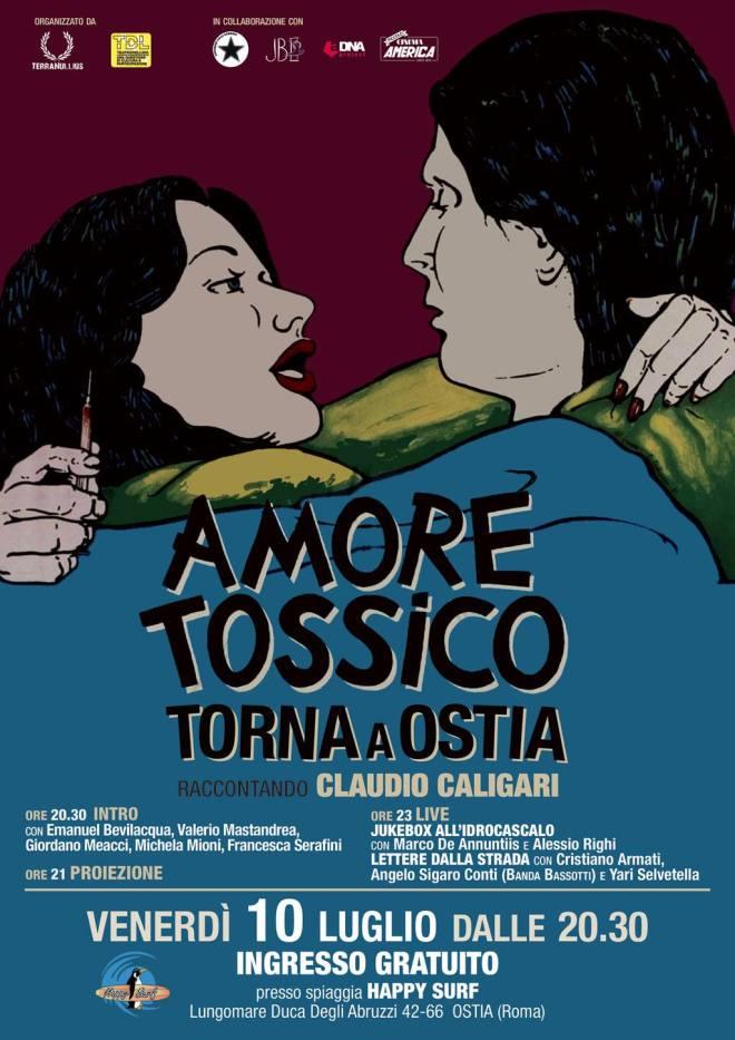 Amore Tossico torna a Ostia