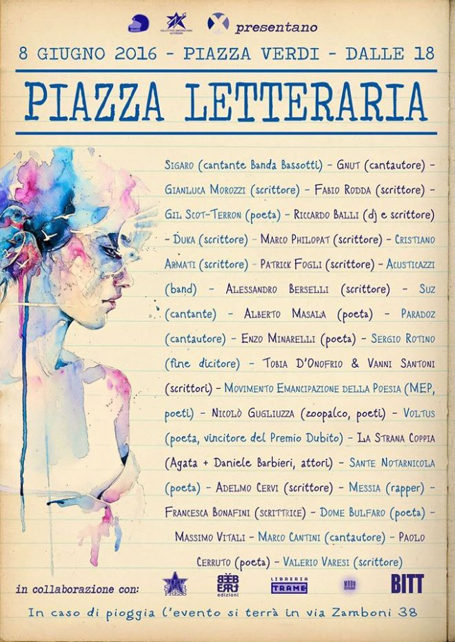 Bologna - Piazza Letteraria - Seconda edizione