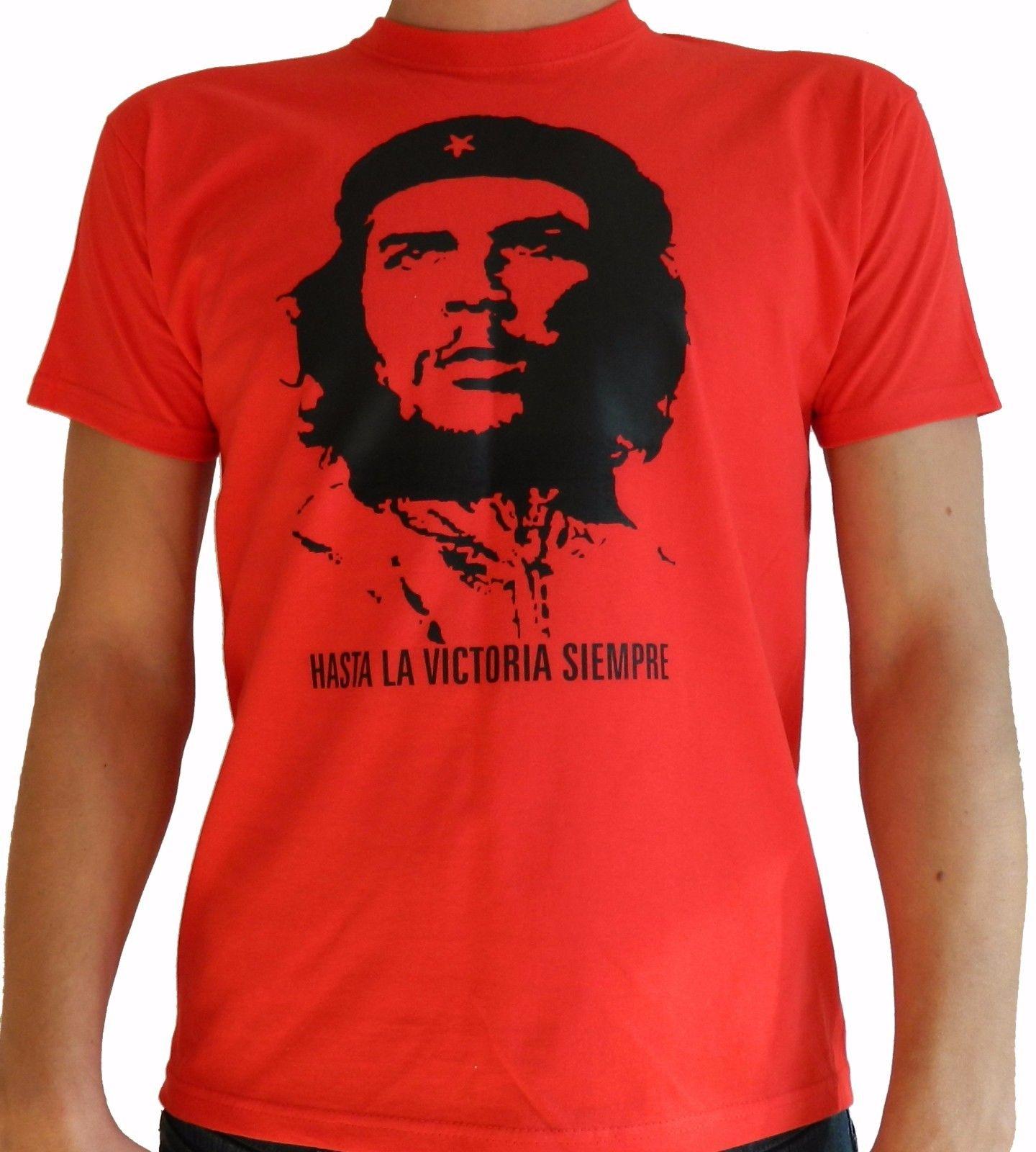 Famosi IMAGE T-Shirt Che Guevara Militare by