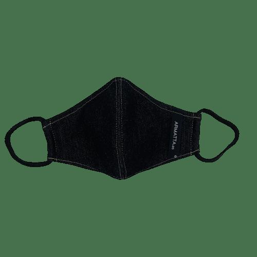 Mascarilla higienica tejana oscura 4