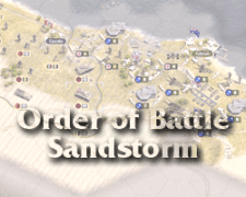 Armchair Dragoons reviews Order of Battle WW2: Sandstorm (Matrix Games)