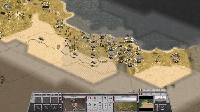 Rommel Command Radius