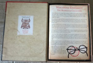 Miskatonic U Restricted Collection Open book