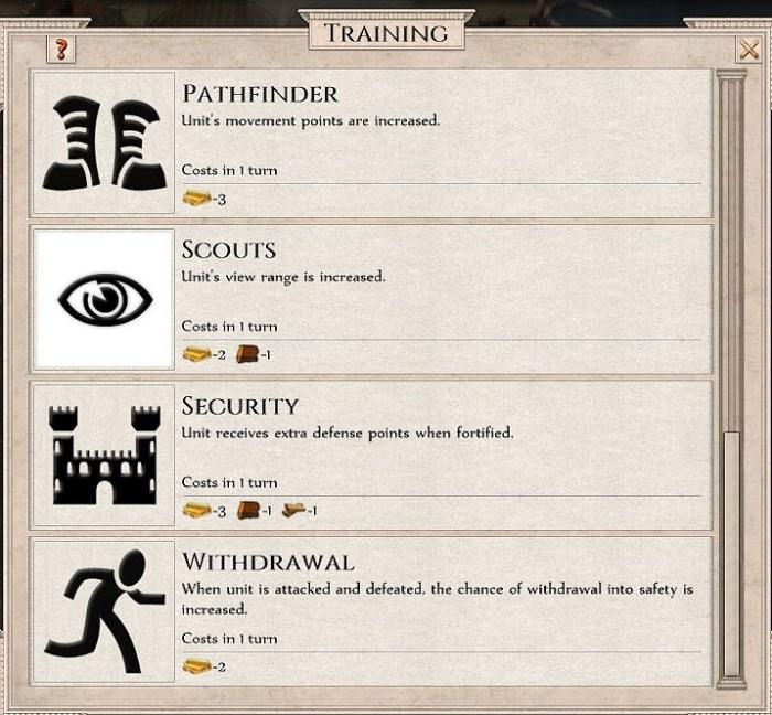 6 Late game Unit Improvement Menu 2