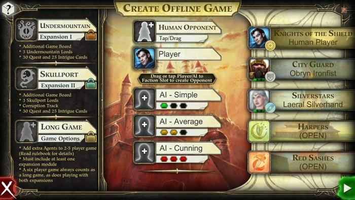 offline game creation