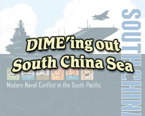 DIME'ing out the South China Sea