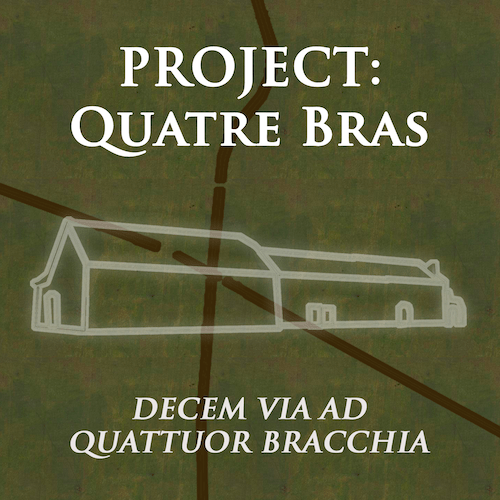 Project: Quatre Bras, or Ten Ways to Four Arms