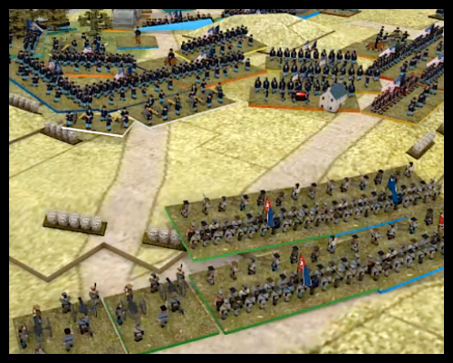 """Saturday Night Fights! The Battle of Gettysburg Day 2 (part III) for """"Altar of Freedom"""""""