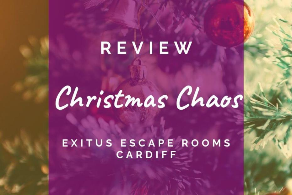 Christmas Chaos review at Exitus Escape Rooms Cardiff