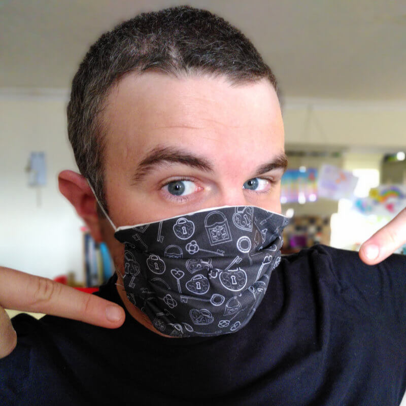 Jamie Gibbs - escape room reviewer, creator of Armchair Escapist and puzzle designer