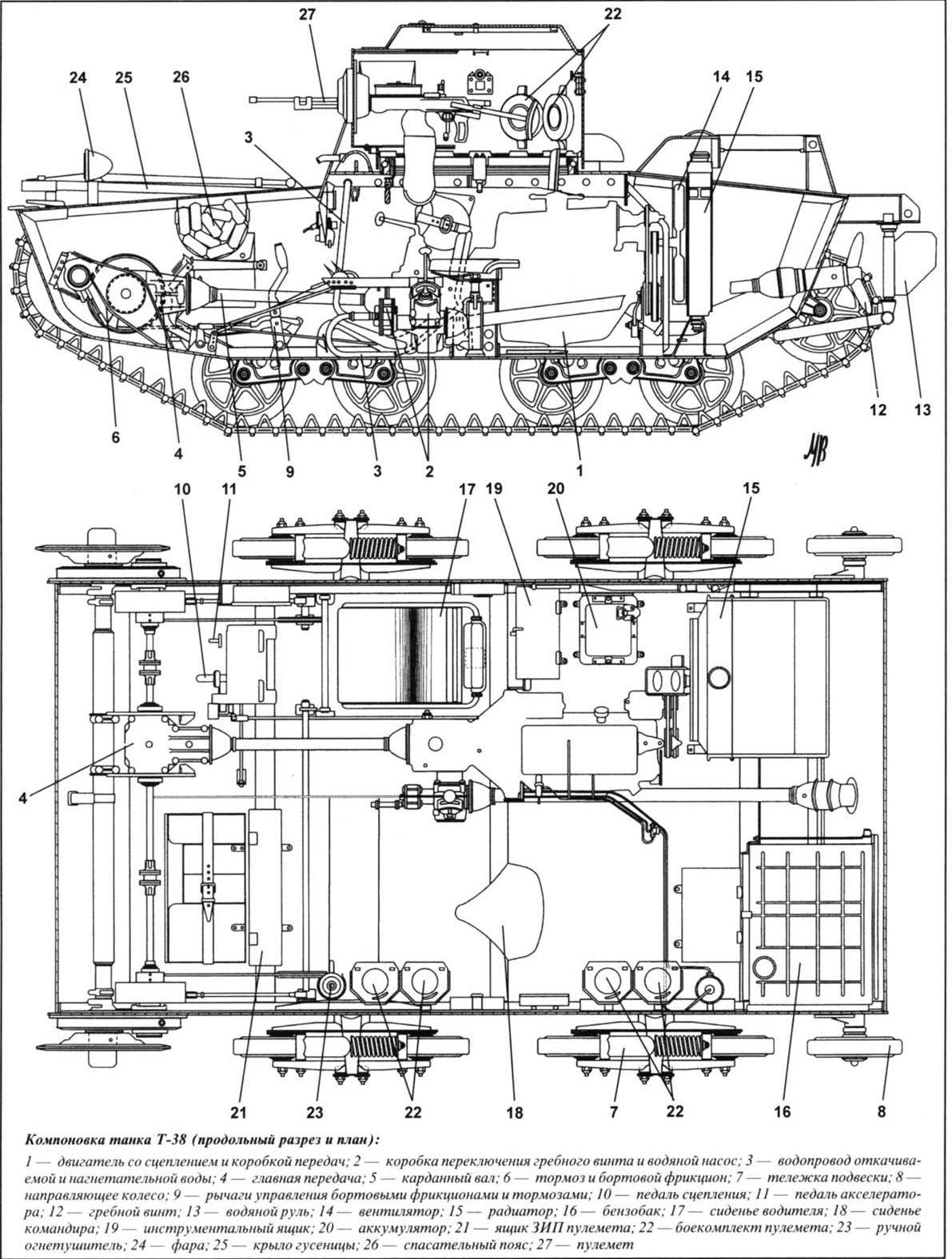 T 38 Blueprints