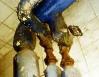 what does asbestos look like - Hot water pipes lagging