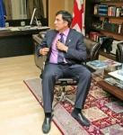 Saakashvili meets Armenian comedians