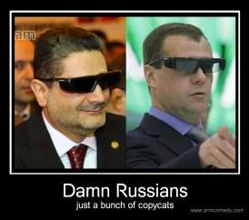 Medvedev Tigran Sargsyan funny demotivator