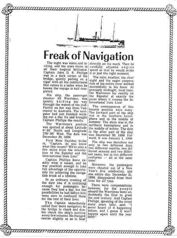 Freak of Navigation