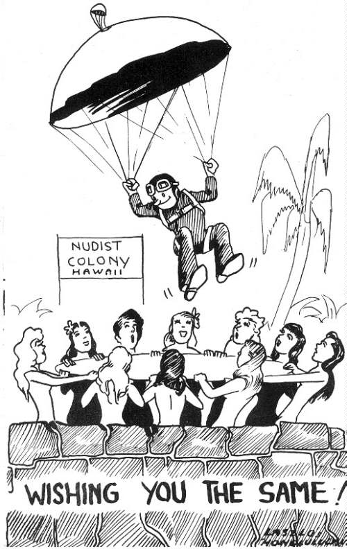 WWII Navy Cartoon
