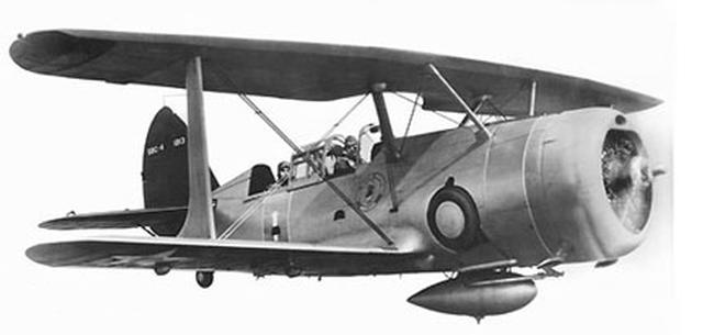 Curtiss SBC-4 Helldiver : Curtiss