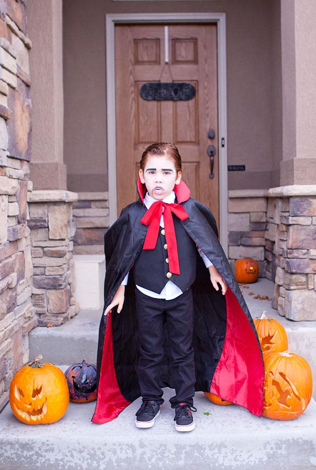 DIY  Vampire Costume  Armelle Blog